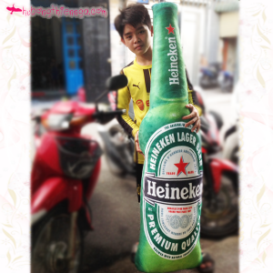 Gối ôm bia Heiniken đại