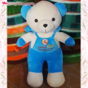 Gấu bông thuê logo Karaoke Moon