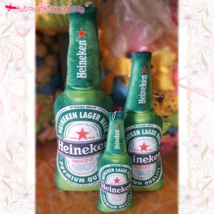 Chai bia Heineken 3D