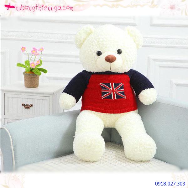 Gấu bông lông xoắn ngoại nhập