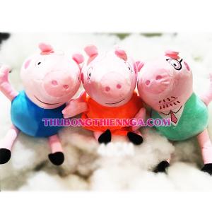 Thú Bông Hình Chú Lợn Peppa Pig
