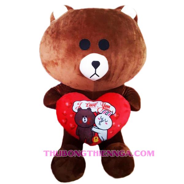 gấu bông brown